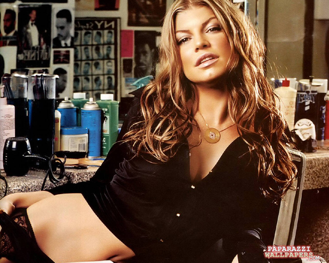 fergie of black eyed peas wallpapers 008